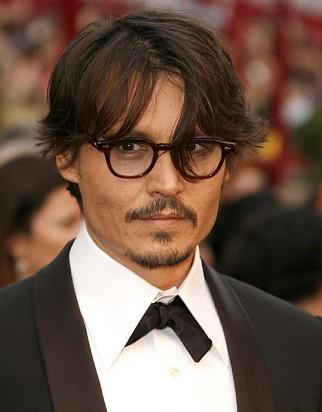Jonny Depp eyeglasses