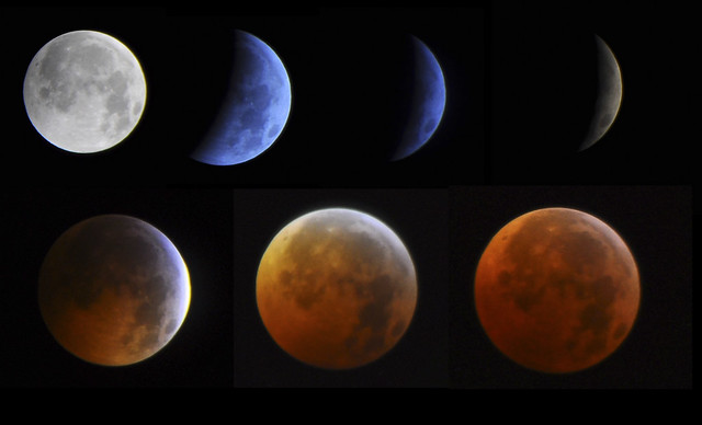 1st Half of the Lunar Eclipse