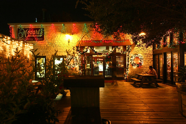 Christmas Lights @ Mozart's Coffee Roasters • Austin, TX 2303 ...