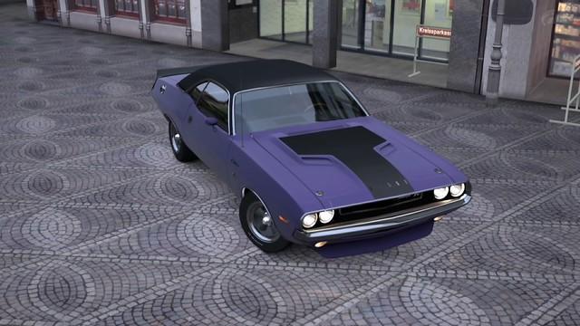 Matte Purple Challenger