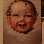 Old Postcards from the Czech Republic - Happy Baby