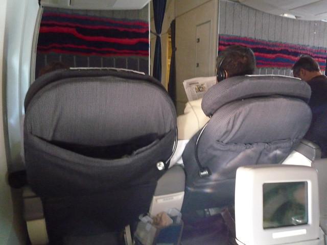 Biz Class Seat Pocket Broken