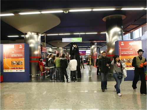 El Salón en el Metro de Madrid