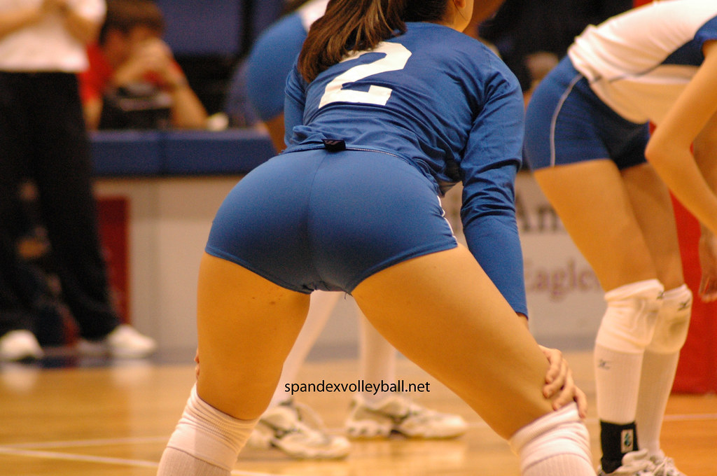 Volleyball spandex pics