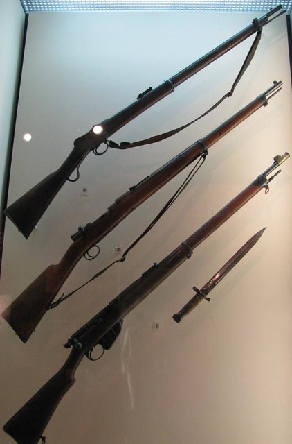 CWM 033 - British - Martini-Henry Lever Action Rifle (top) - 1871