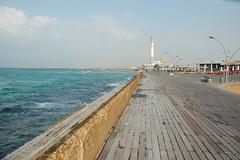 Tel Aviv Port view of Reading power station
