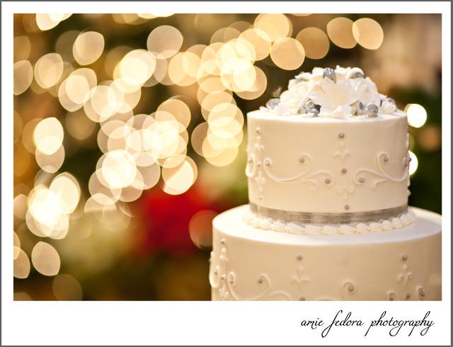 Winter Wedding Cake Aimee Fedora