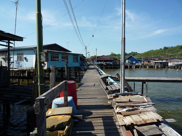 Kampong Ayer, Brunei by CC user e_chaya on Flickr