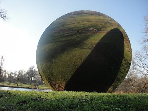 Anish Kapoor - 'Sky Mirror' 2006, Stainless Steel at Hyde Park London by designer_dan