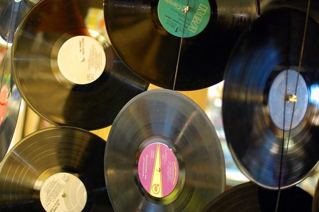 Vinyl Flickr Photo Sharing
