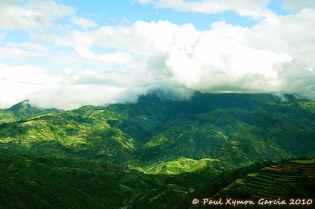 View of the Cordilleras, Buguias, Benguet