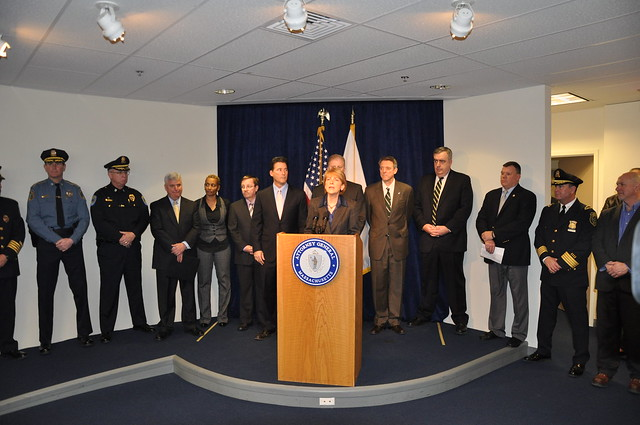 Human Trafficking Legislation Press Conference: January 2011