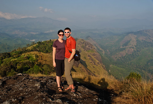 Abby & Ross Above Munnar