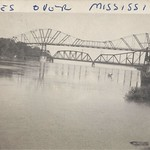 Dubuque, Iowa, Wagon Bridge, Railroad Bridge, Mississippi River