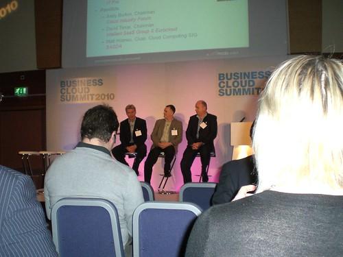 Business Cloud Summit 2010 panel debate
