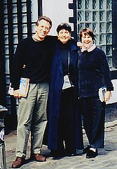 With Benita Valente and Libby Larsen, recording in Scotland | by JR Archive