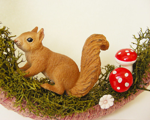 Woodland Creatures Wreath