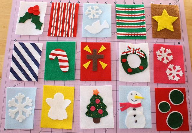advent calendar squares | Flickr - Photo Sharing!