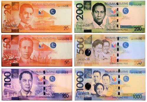 The New Philippine Peso Banknote Designs