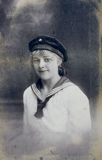 German sailor girl