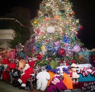 Giant Christmas Tree on 21st st