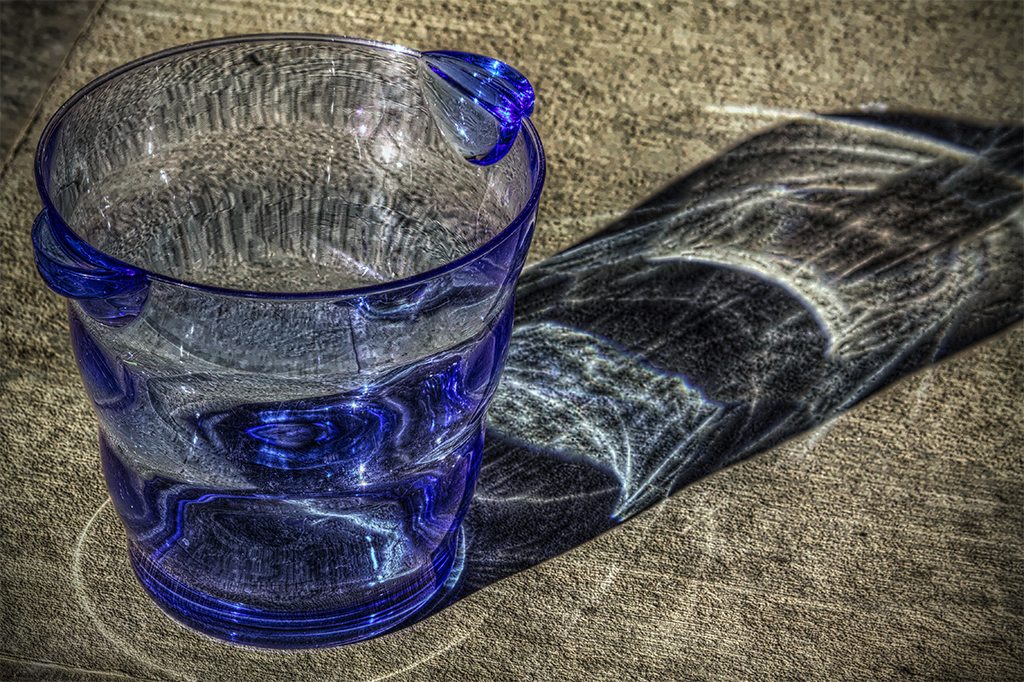 Plastic Bucket in HDR