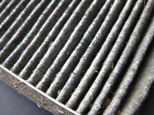 コペン 2年使用のエアフィルター Copen Air Filter OLD