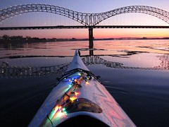 Winter Kayaking in Memphis