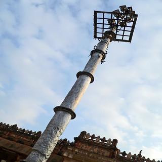 wrought iron column