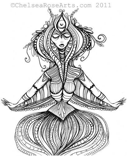 Bulb Goddess