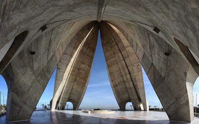El Makam Chahid,(Monument des Martyrs), Alger, Algérie, Afrique du Nord