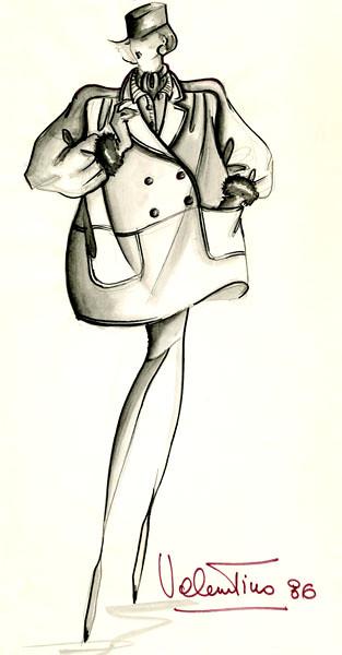 Original Sketch by Valentino