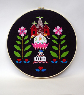 It's a Small World hoop {finished}