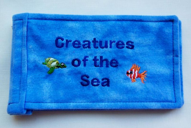 Creatures of the Sea Fabric Book
