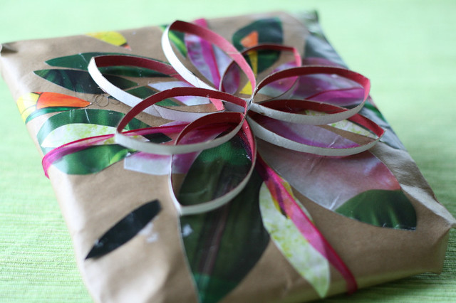 Handmade gift wrap from Flickr via Wylio