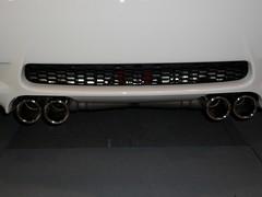 wheel(0.0), rim(0.0), font(0.0), grille(0.0), alloy wheel(0.0), vehicle registration plate(0.0), automobile(1.0), automotive exterior(1.0), vehicle(1.0), automotive design(1.0), exhaust system(1.0), bumper(1.0),