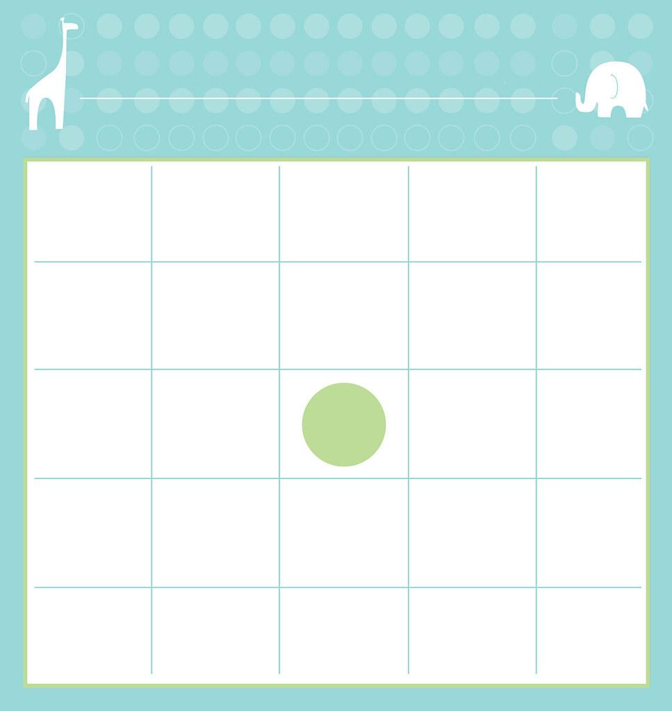 Printable Bingo Cards Blank Baby Shower Online Bets