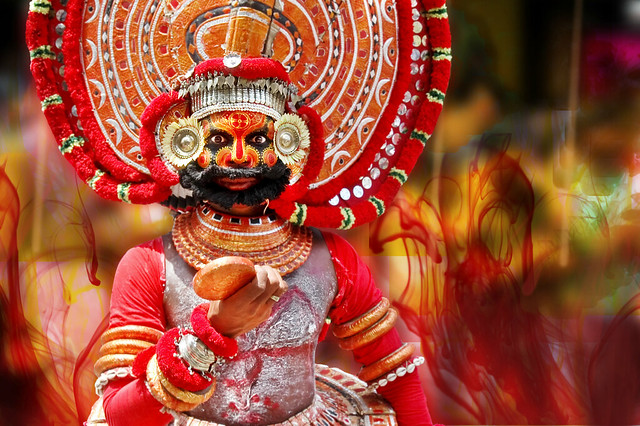 Theyyam at Kerala - The Gods Ask the Question ?