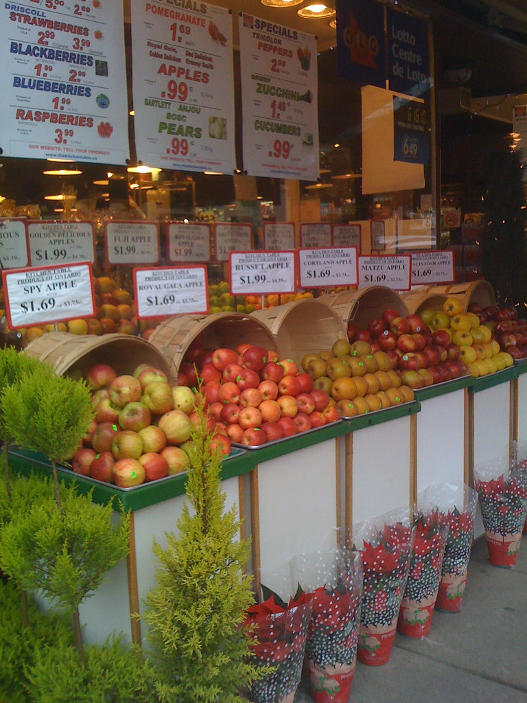 Kitchen Table, Ontario apple proud