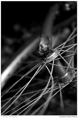 (another) broken bicycle