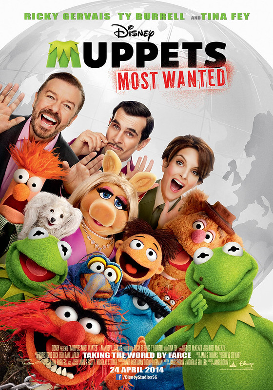 Muppets: Most Wanted Poster