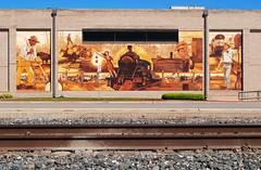 Mural, Angelina Street at Frank Ave, Lufkin, Texas 1404251538