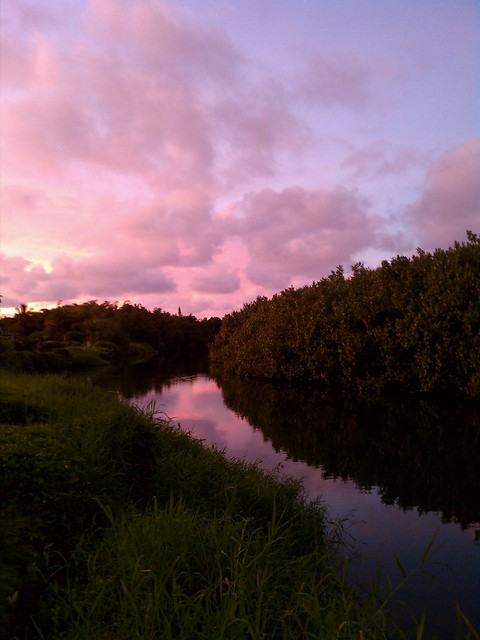 Sunset in Hanalei