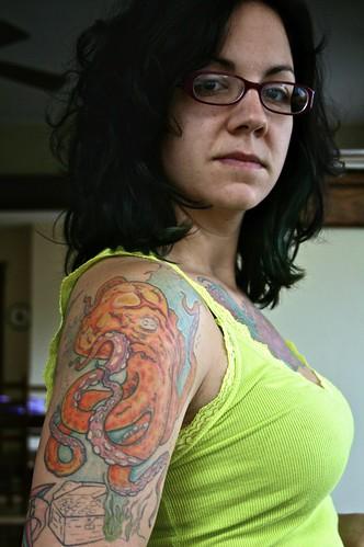 arm progress arm sleeve tattoos Image by MissMessie