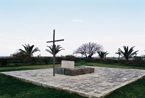 Tombstone of Nikos Kazantzakis