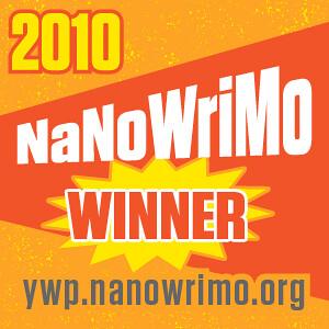 I Won NaNoWriMo!