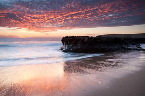 ocean california santa sea sky usa santacruz beach cali clouds reflections outdoors nikon pacific diego coastal cruz nikkor filters 1735mm fourmile singhray tabango 4mile d700 reversend