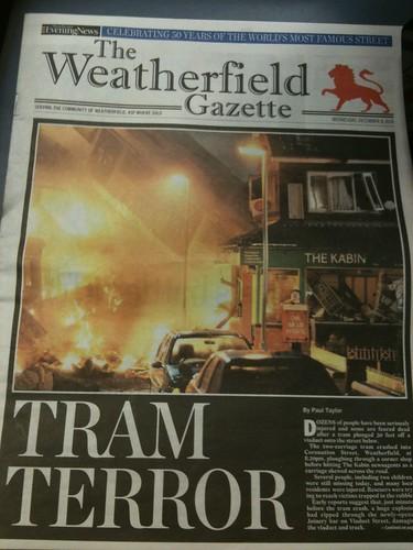 Tram Terror! (Day 52 of 365)