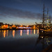Dublin At Night - Sailing Ship