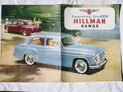 Hillman Hunter Brochure 1960s